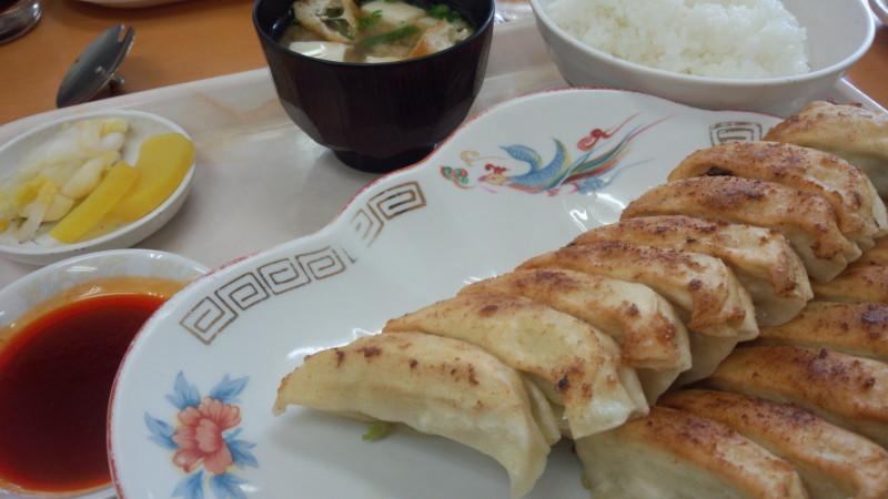 福みつ餃子定食