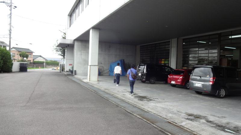 大善家具駐車場