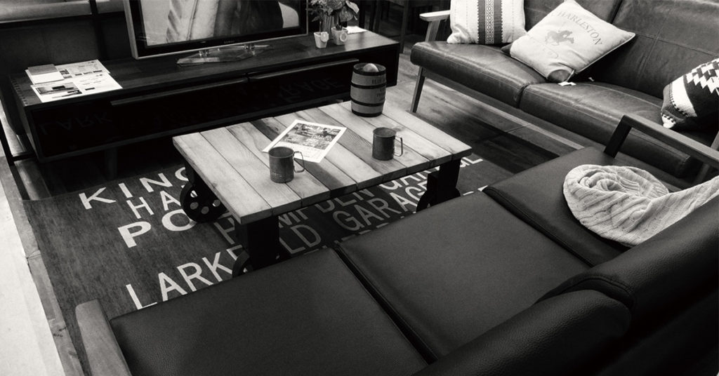 チークカートテーブル