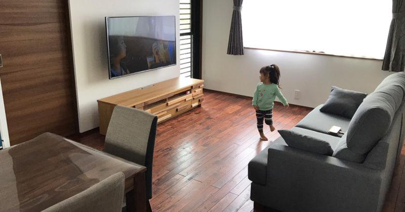 モーブルのテレビボード
