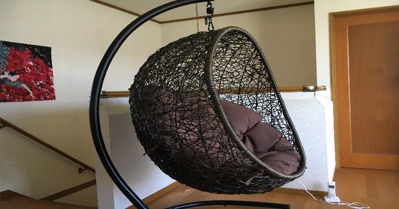 マイサカ家具のオリジナルのハンギングチェア