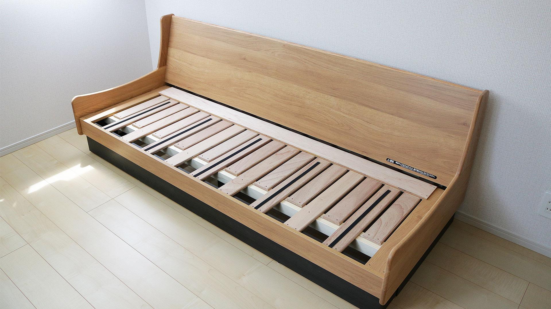 ごろ寝ソファーの木製フレームその2