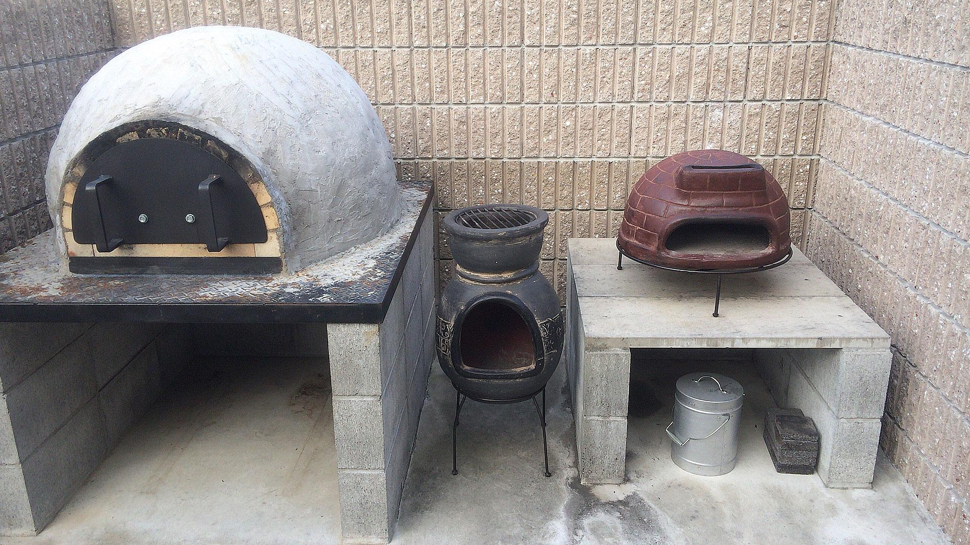 色々なピザ窯比較画像