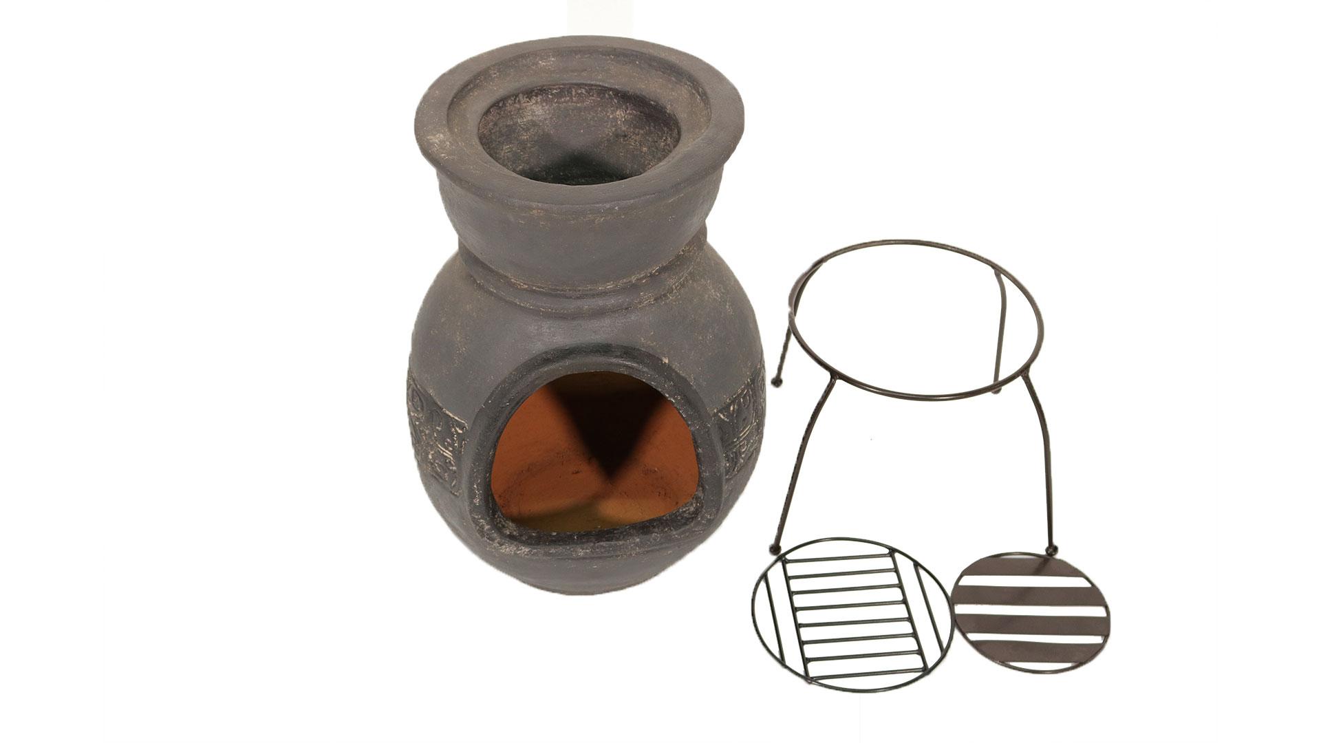 メキシコ製の暖炉型チムニーmch8880のセット内容