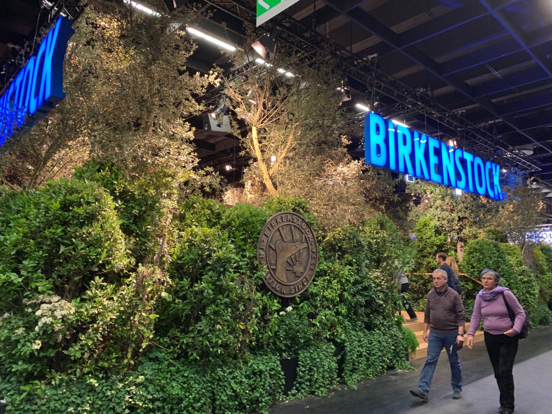 BIRKENSTOCKのベッドの売り場