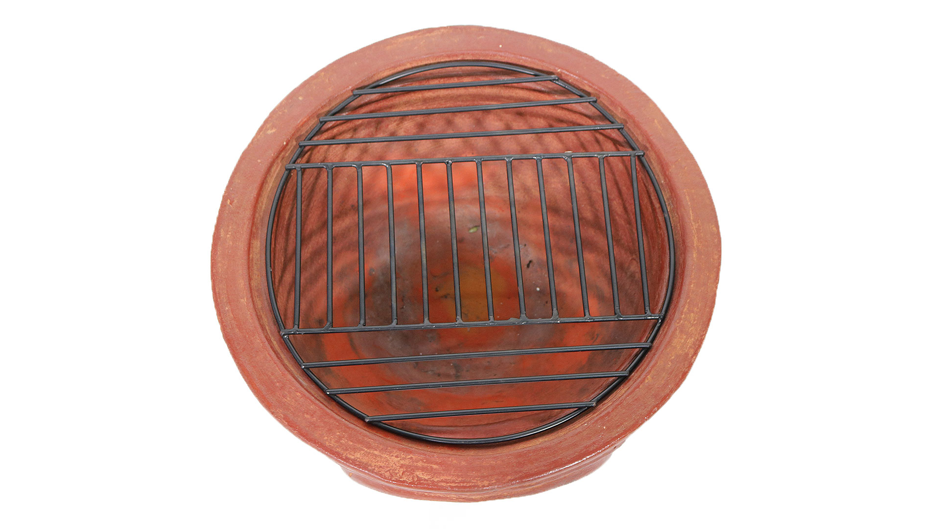 メキシコ製テーブル型チムニーの網の大きさの画像