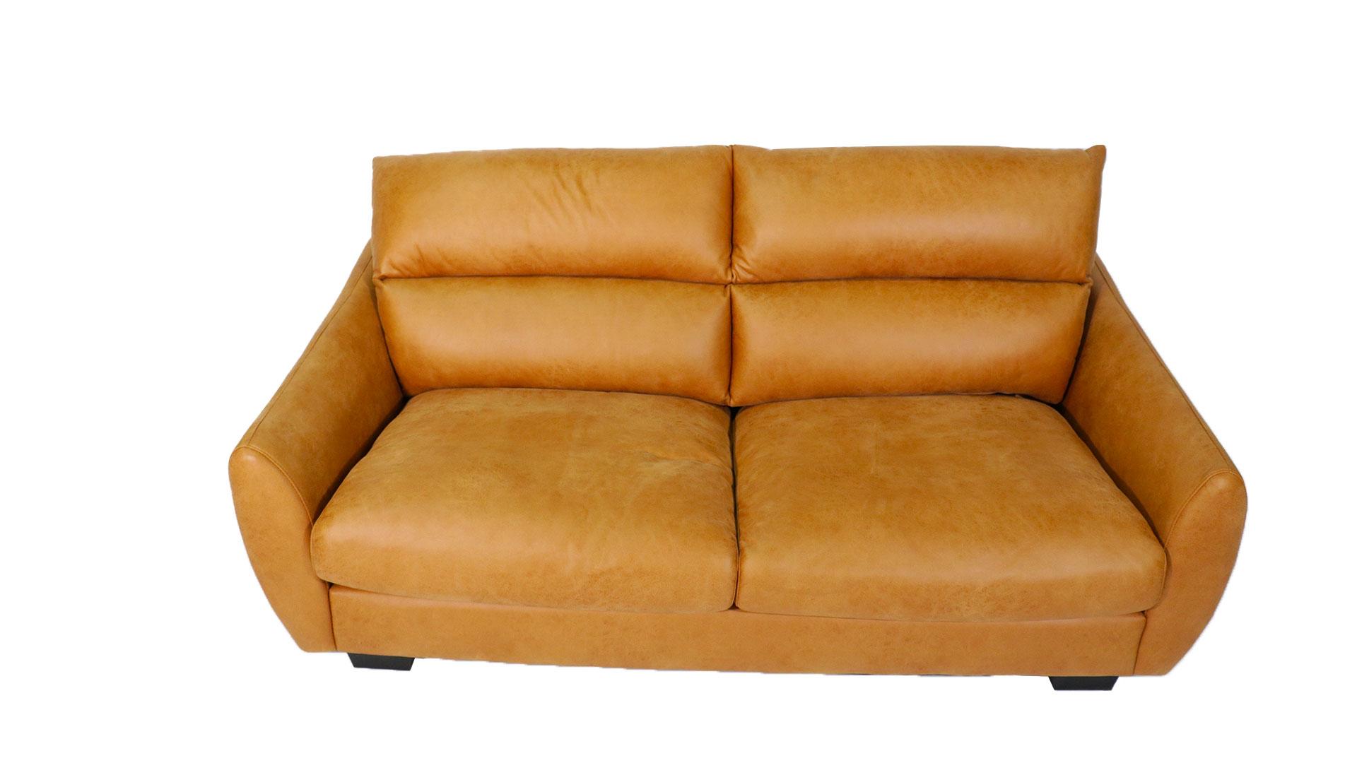 ふんわりハイバックのask-inのソファ「ルーク」の正面から撮影した画像
