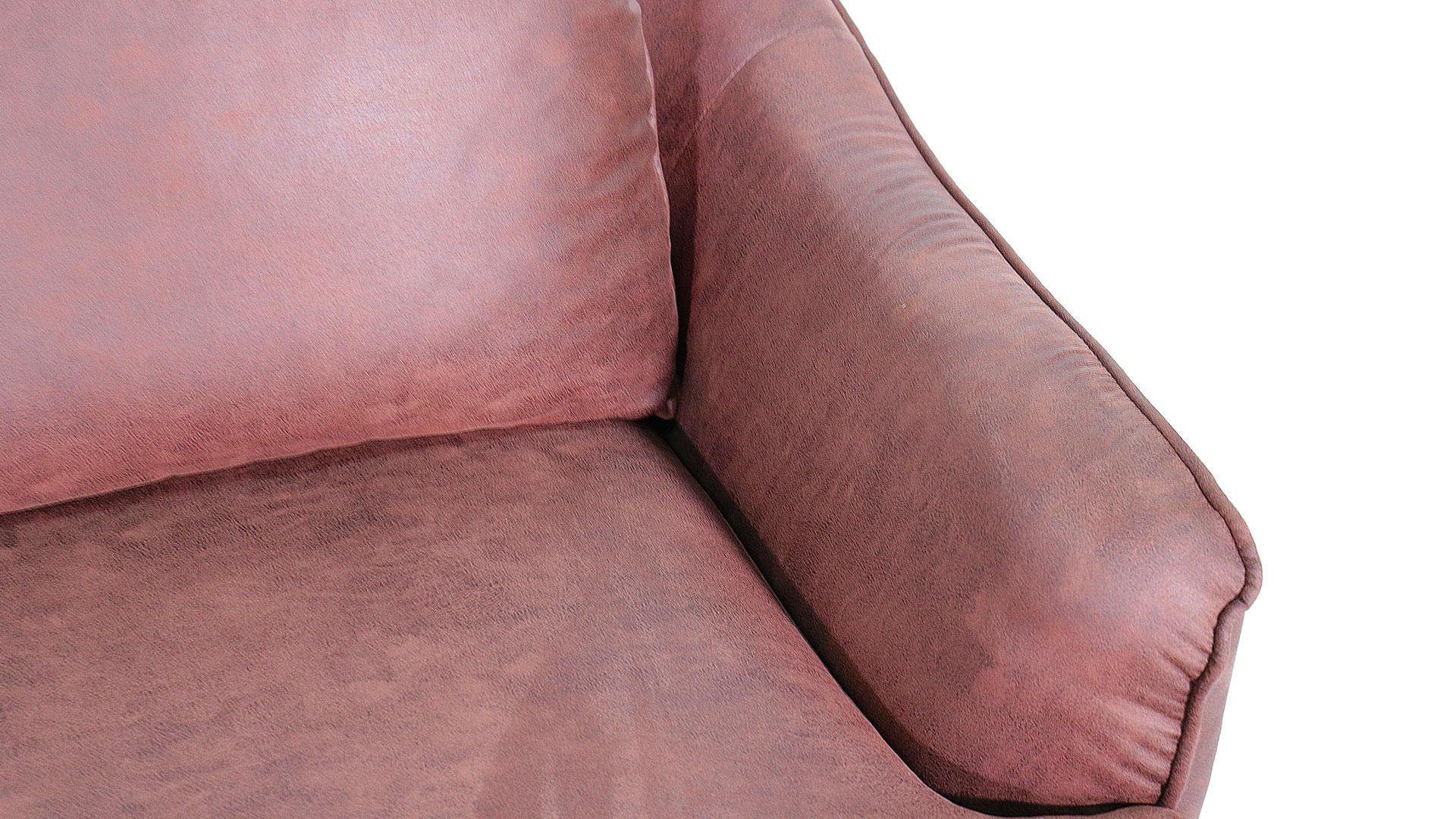 ゆったりと座れるask-inのカウチソファ「モラレス」の左肘カウチの肘部分の画像