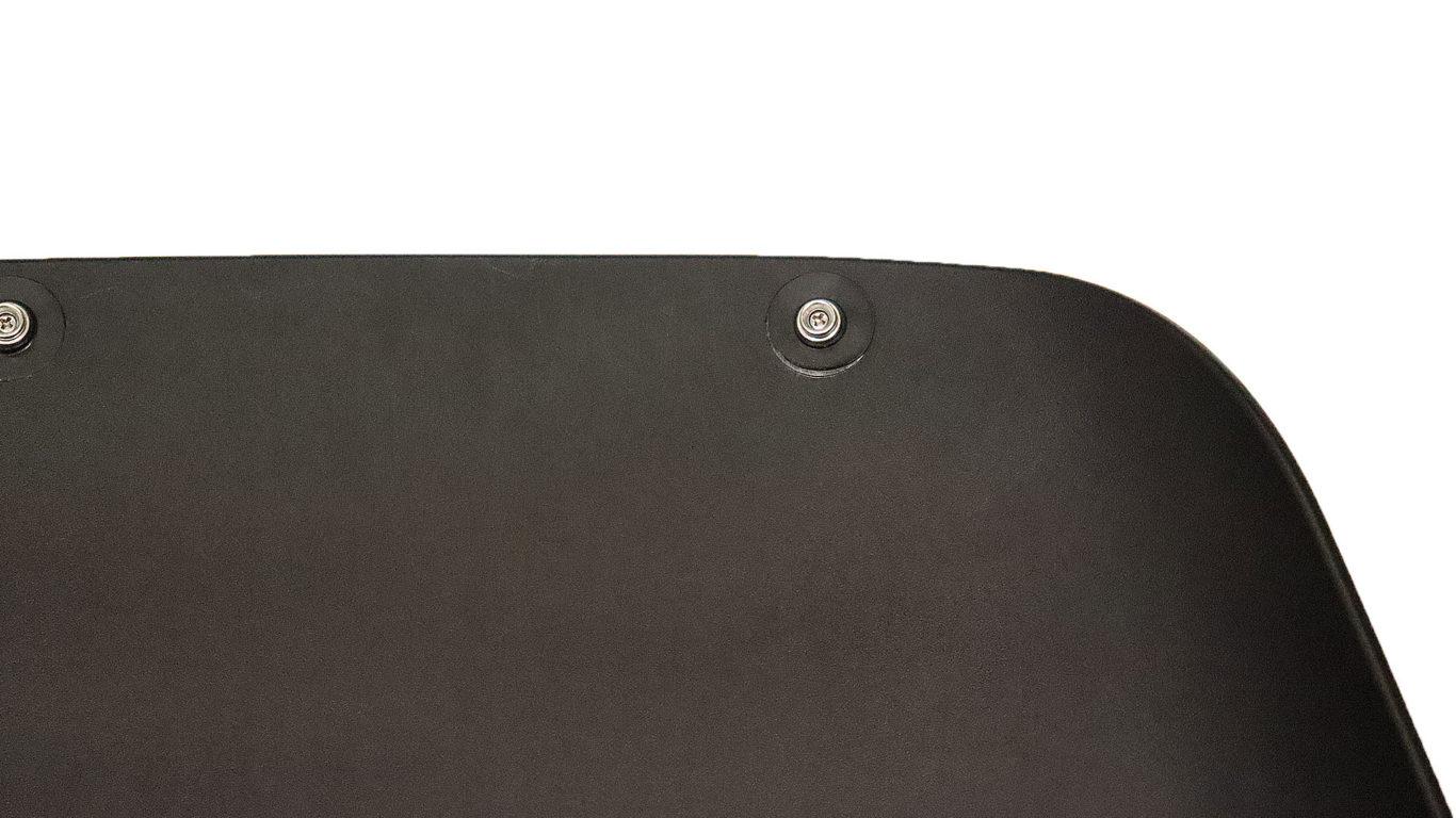 黒色のおしゃれな北欧デザインのロッキングチェアーの本体のアップの画像