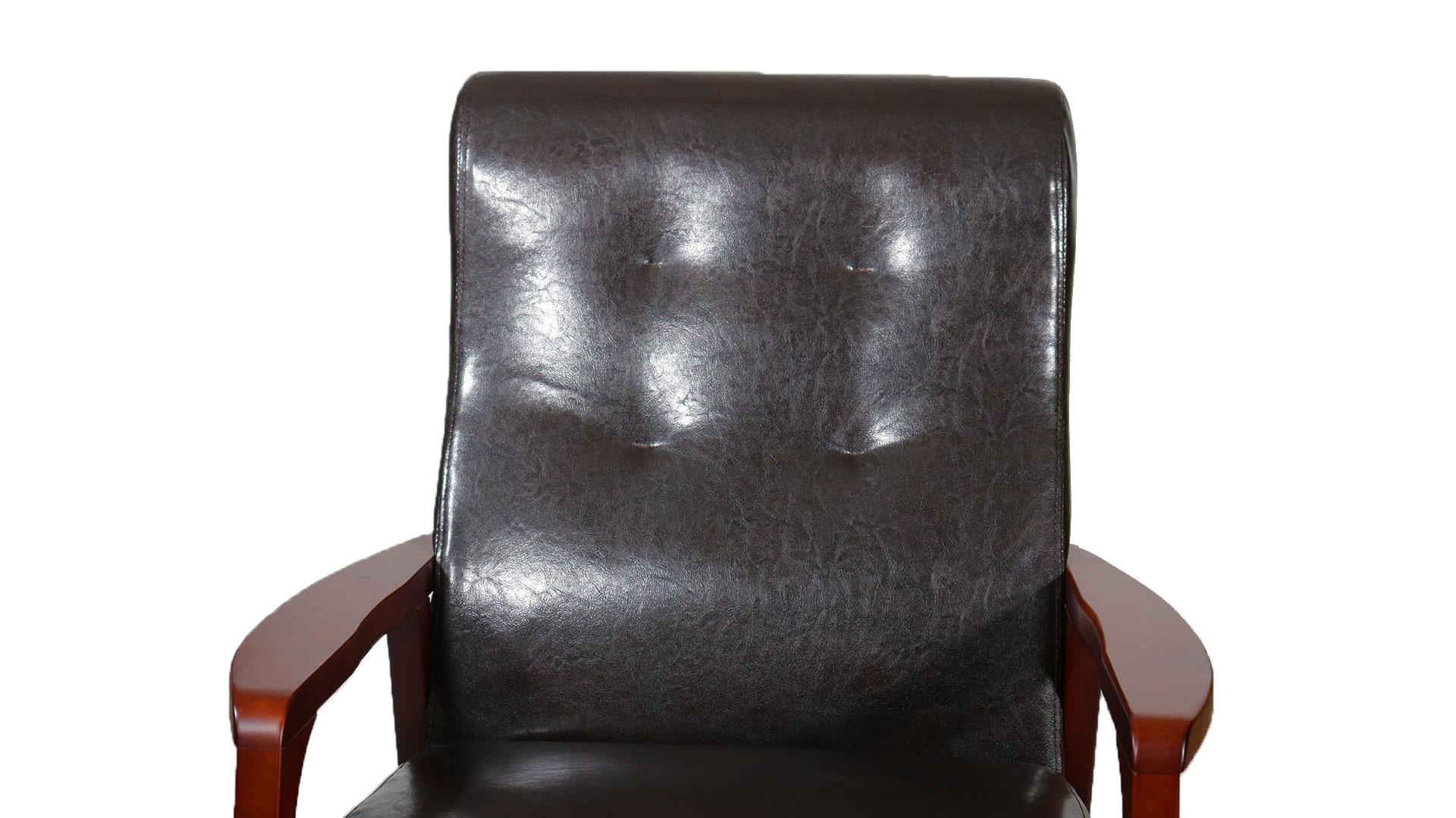 リビンズのソファ「モンブラン」の背もたれのアップの画像