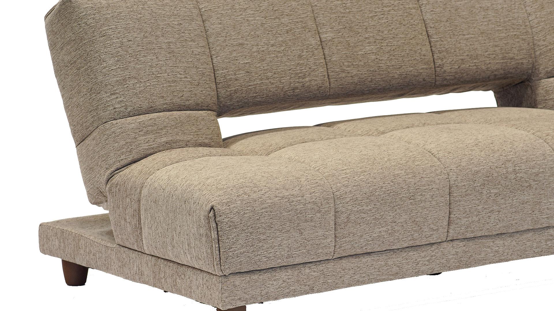 リビンズのソファーベッド「シャロン」のアップの画像