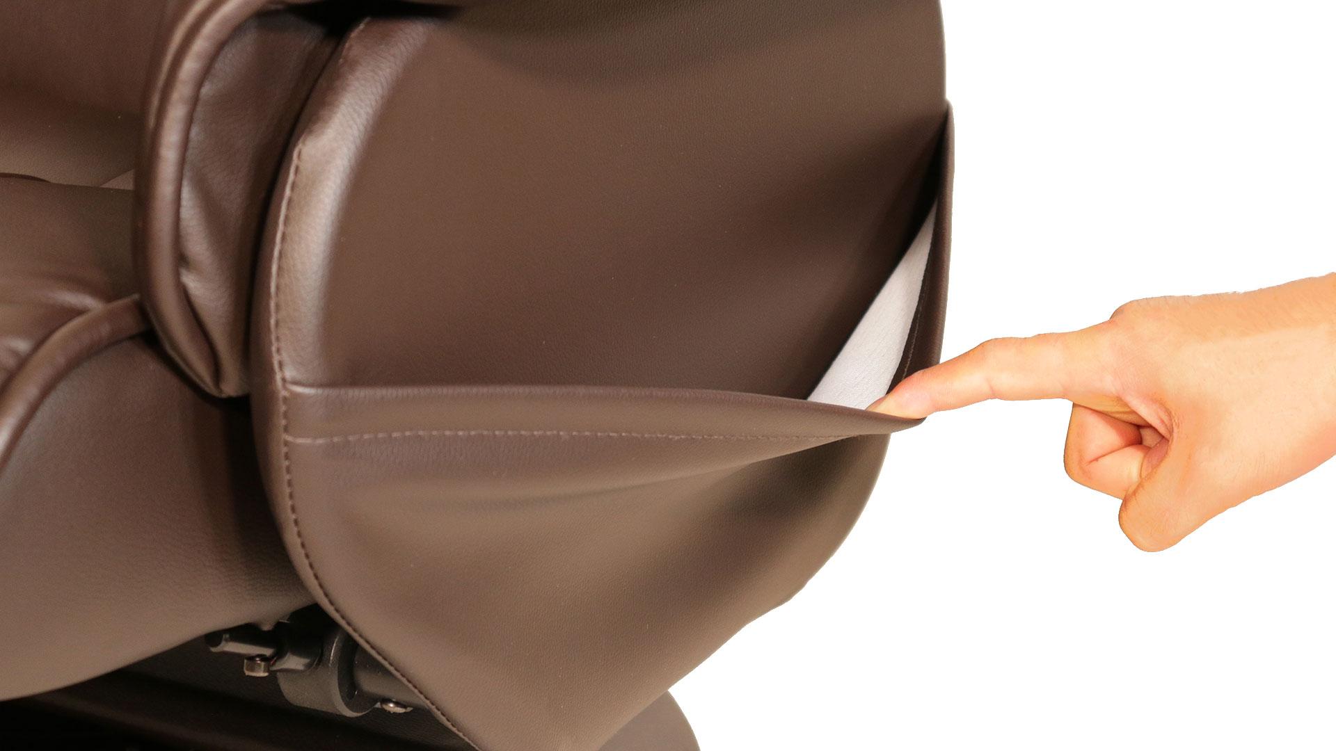 リビンズのリクライニングチェア「ヒューベリオン」のポケットの画像