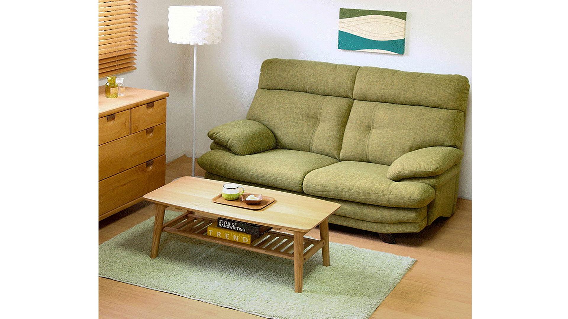 リビンズの二人掛けソファ「ジェム」の画像