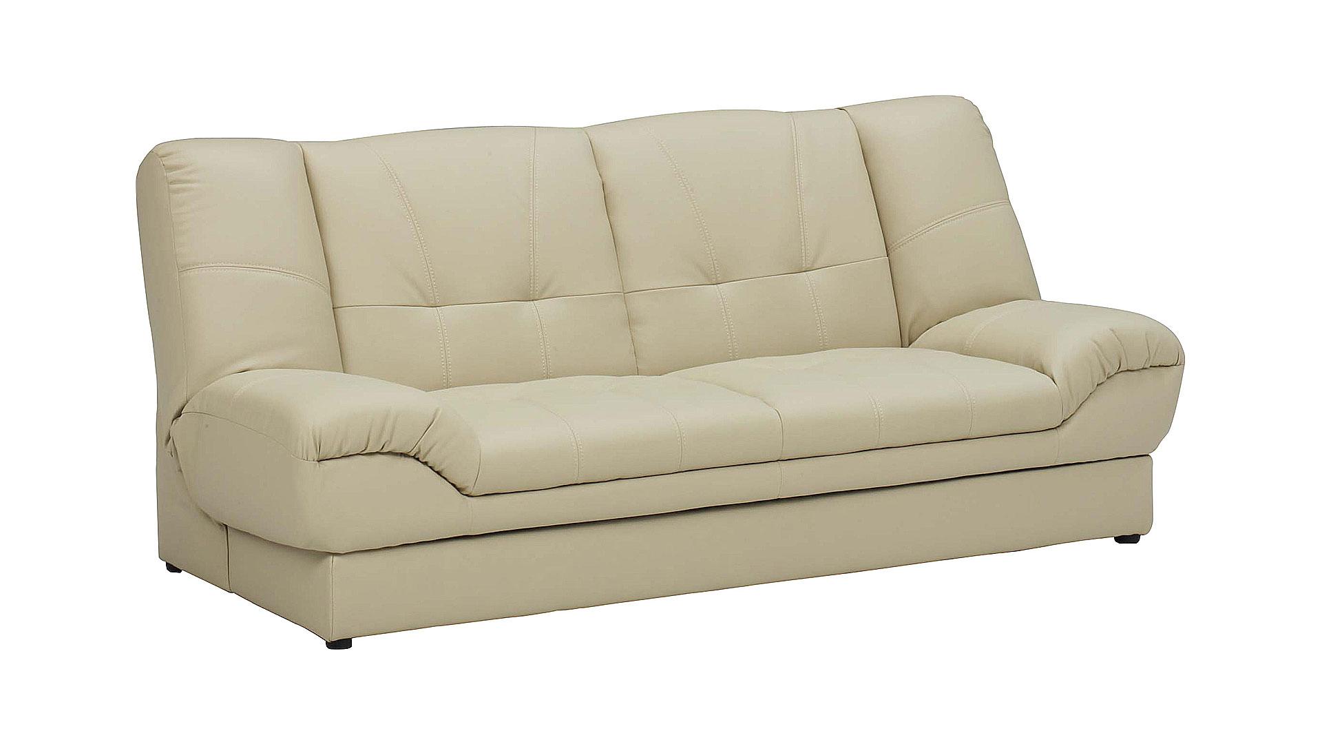リビンズのソファーベッド「ヌエベ」のベージュの画像