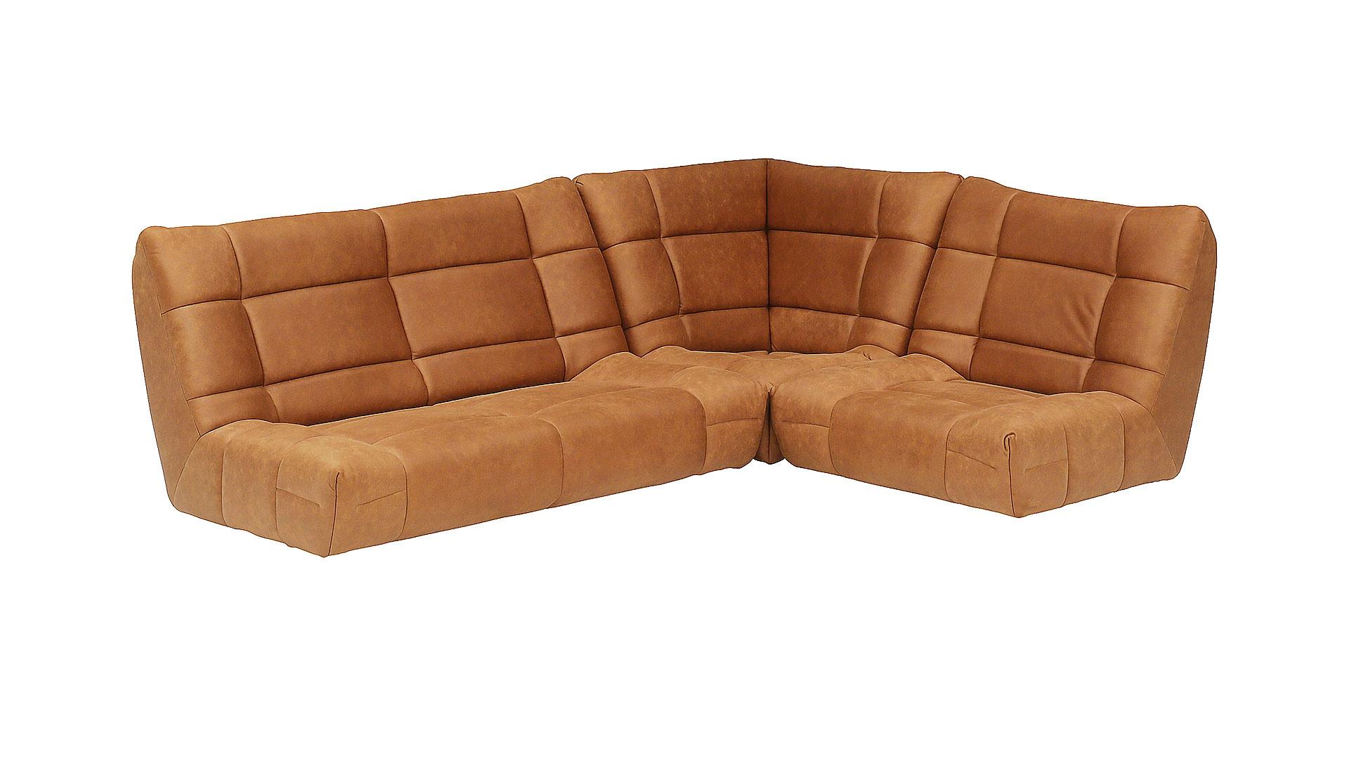 リビンズのソファ「チャオ」の脚を外した画像