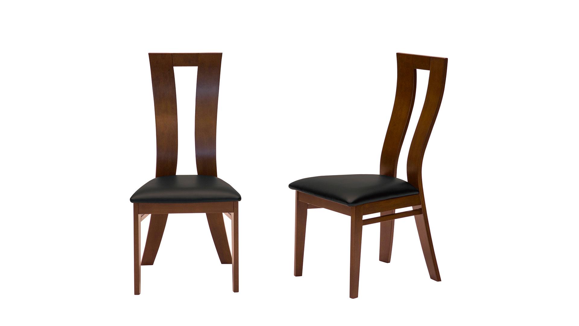 リビンズのダイニングセット「ライトルⅡ」の椅子の画像