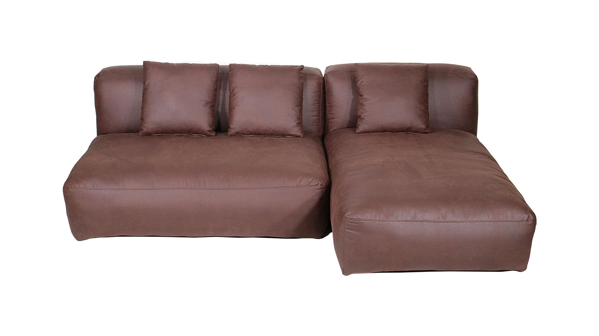 内田工芸のソファ、ブライトンのL字のカウチソファの画像