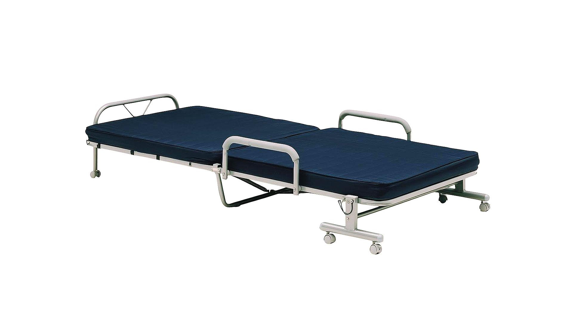 リビンズの折りたたみベッド「ゼロ」の広げた画像