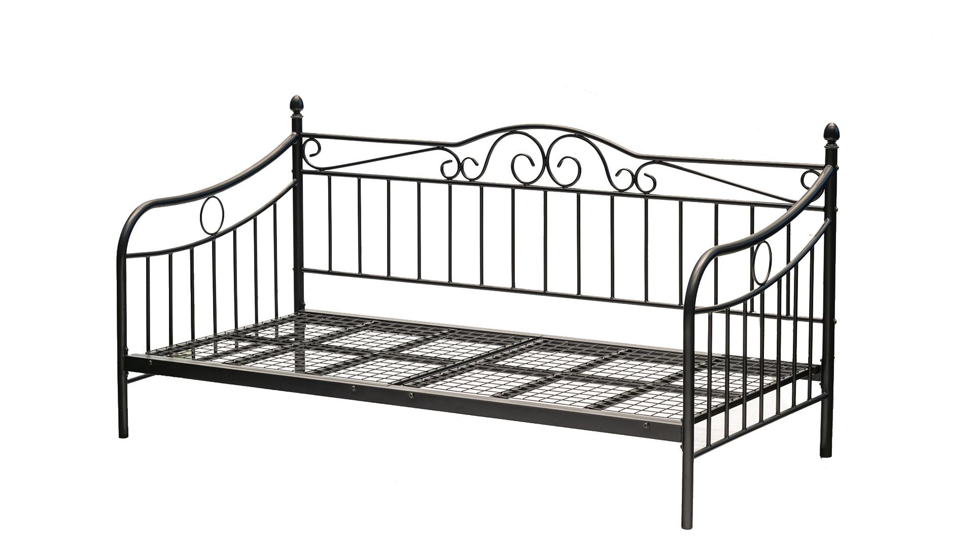 リビンズのベッドフレーム「ビーグル」の斜めの画像
