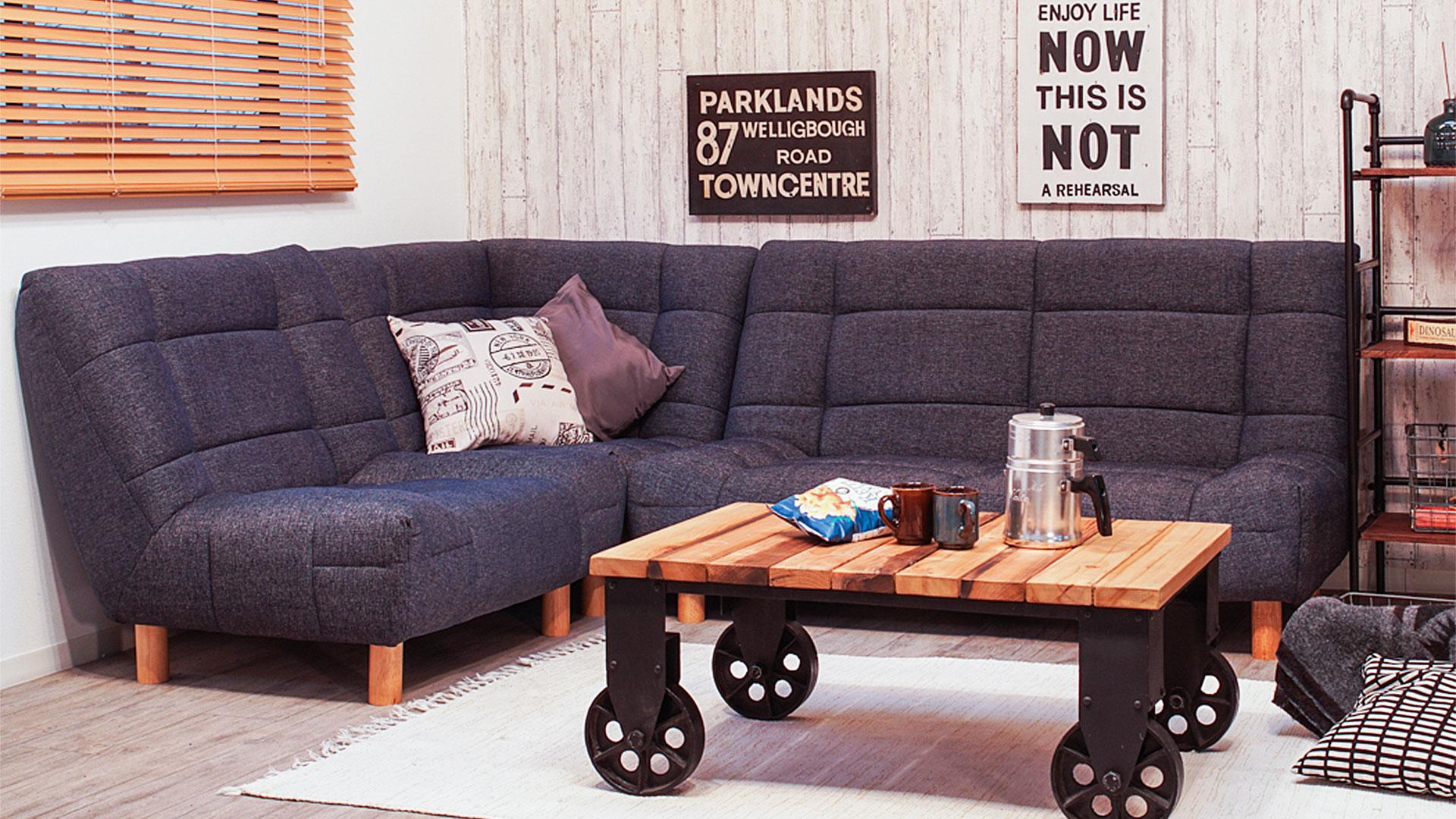 リビンズのソファ「チャオ」の画像