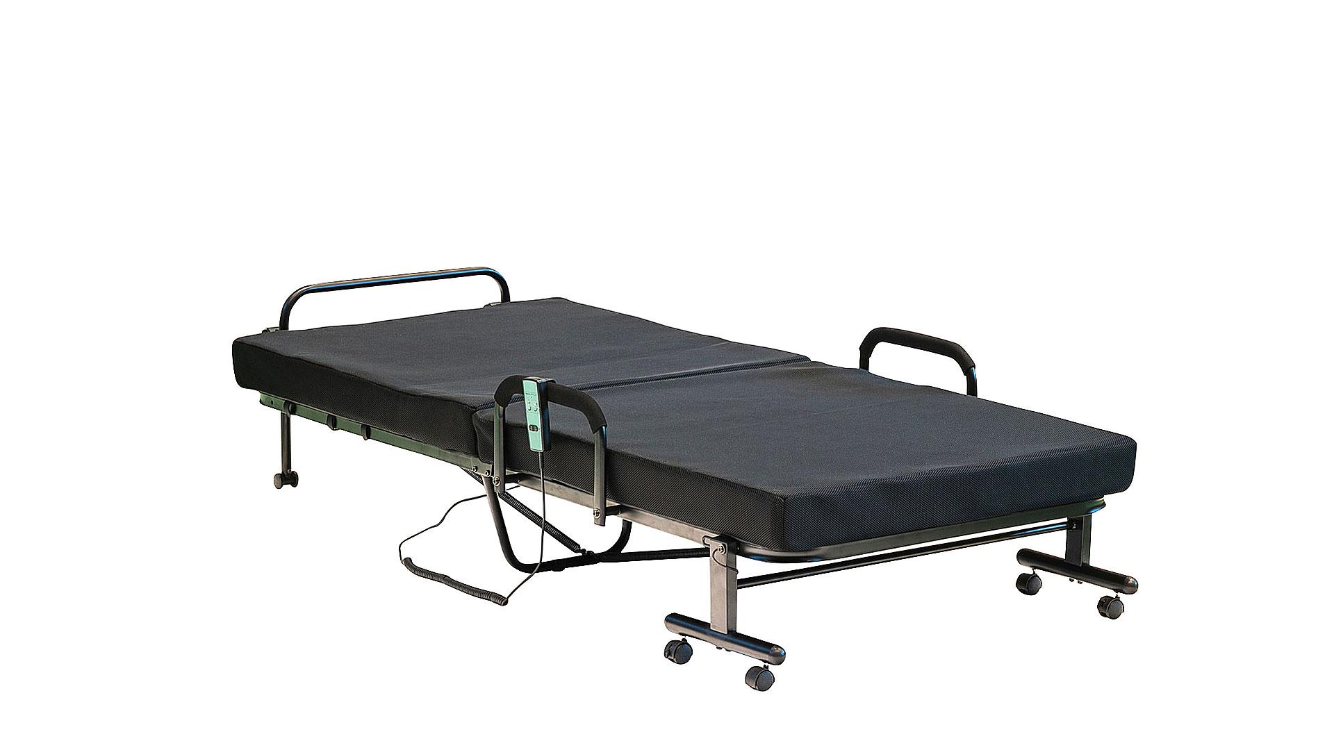 リビンズの折りたたみ電動ベッド「アクセル」の広げた状態の画像