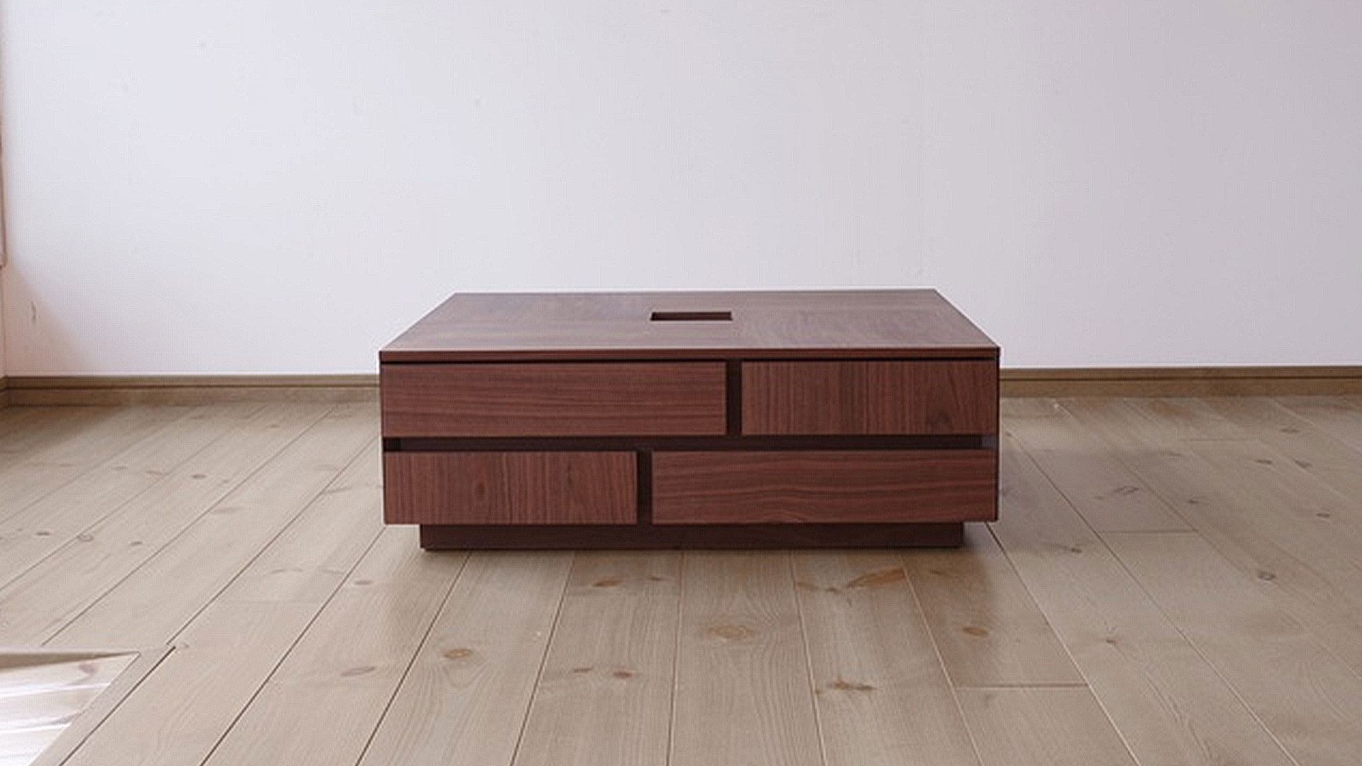関家具のニッポネアのセンターテーブルのアトリの正面
