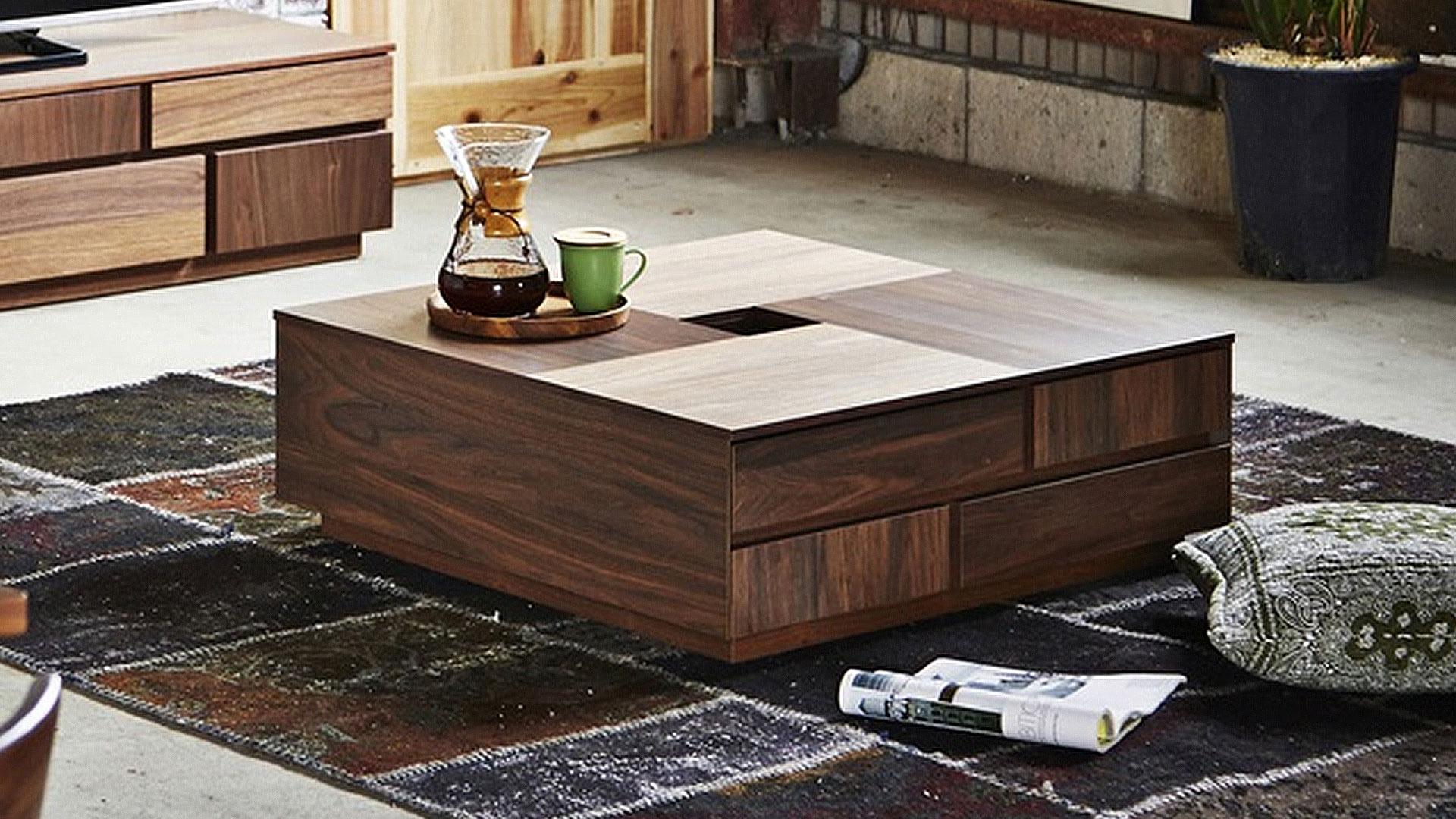 関家具のニッポネアのセンターテーブルのアトリのイメージ画像
