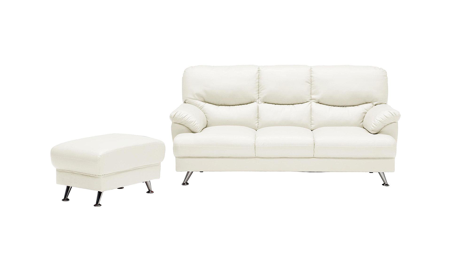 リビンズの三人掛けソファ「セリート」のWHとスツール
