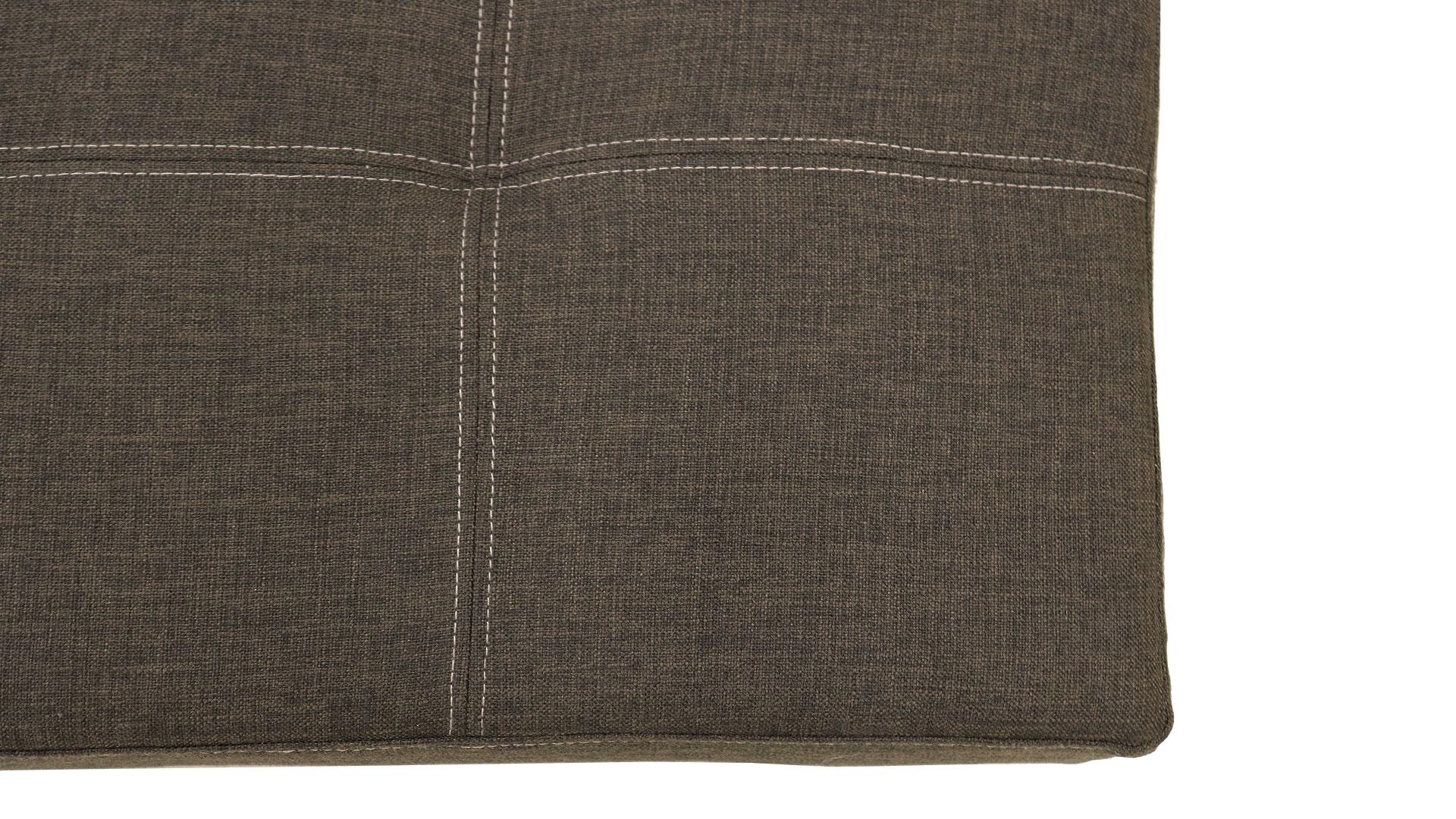 横幅180㎝の黒のソファベッド7.777円の品の生地の画像