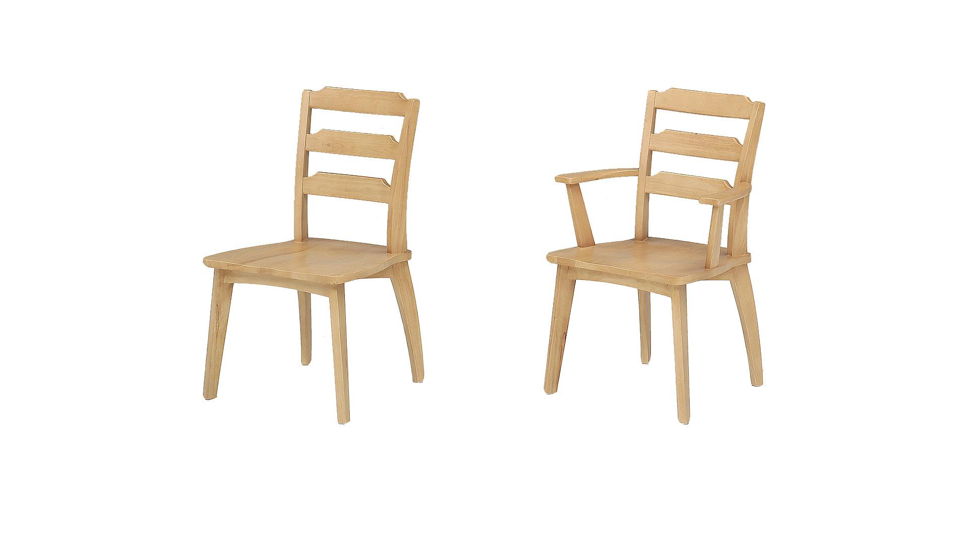 リビンズのダリビンズのダイニングセット「柊」の固定椅子の画像イニングセット「柊」の固定椅子の画像