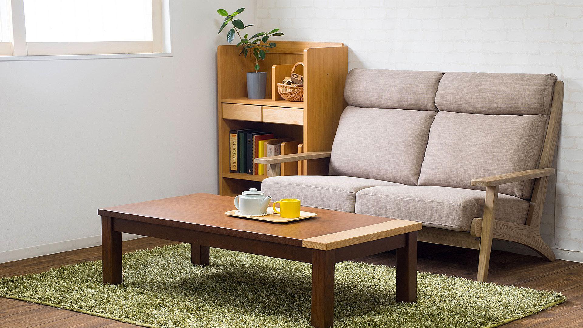 リビンズのソファ「ステラ」ヴィンテージBEの画像