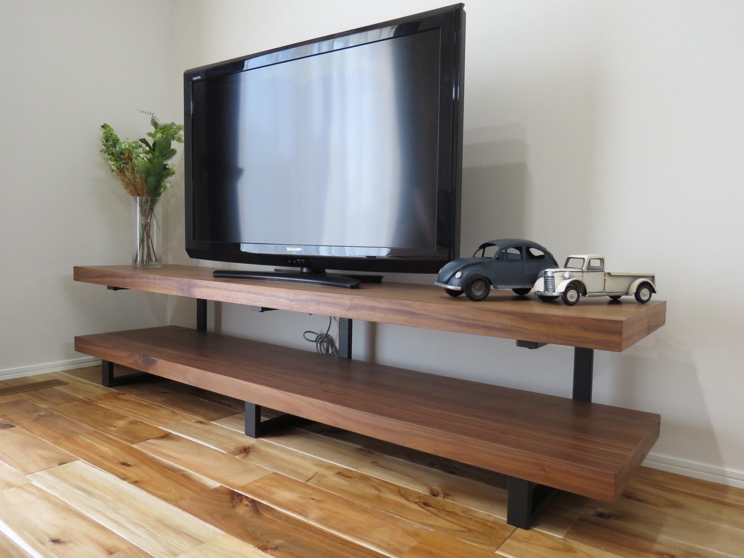 古木調テレビボード