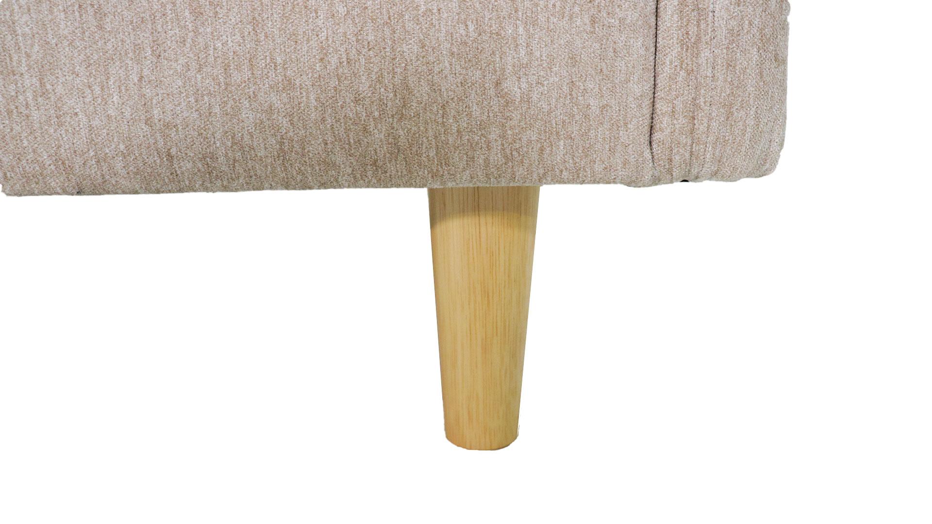 ask・inのコンパクトなサイズのカウチソファ「スペンサー」の脚の画像