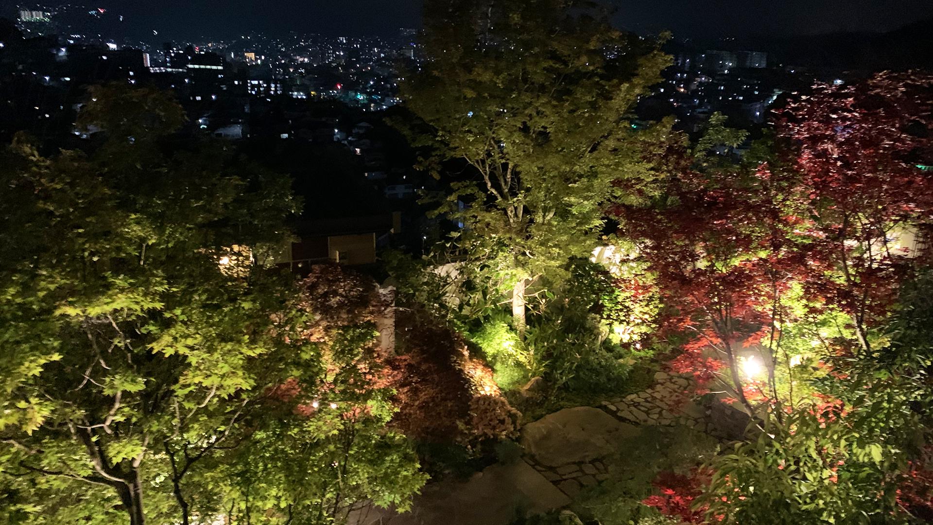 長崎の三原にある石原和幸邸のお庭の画像
