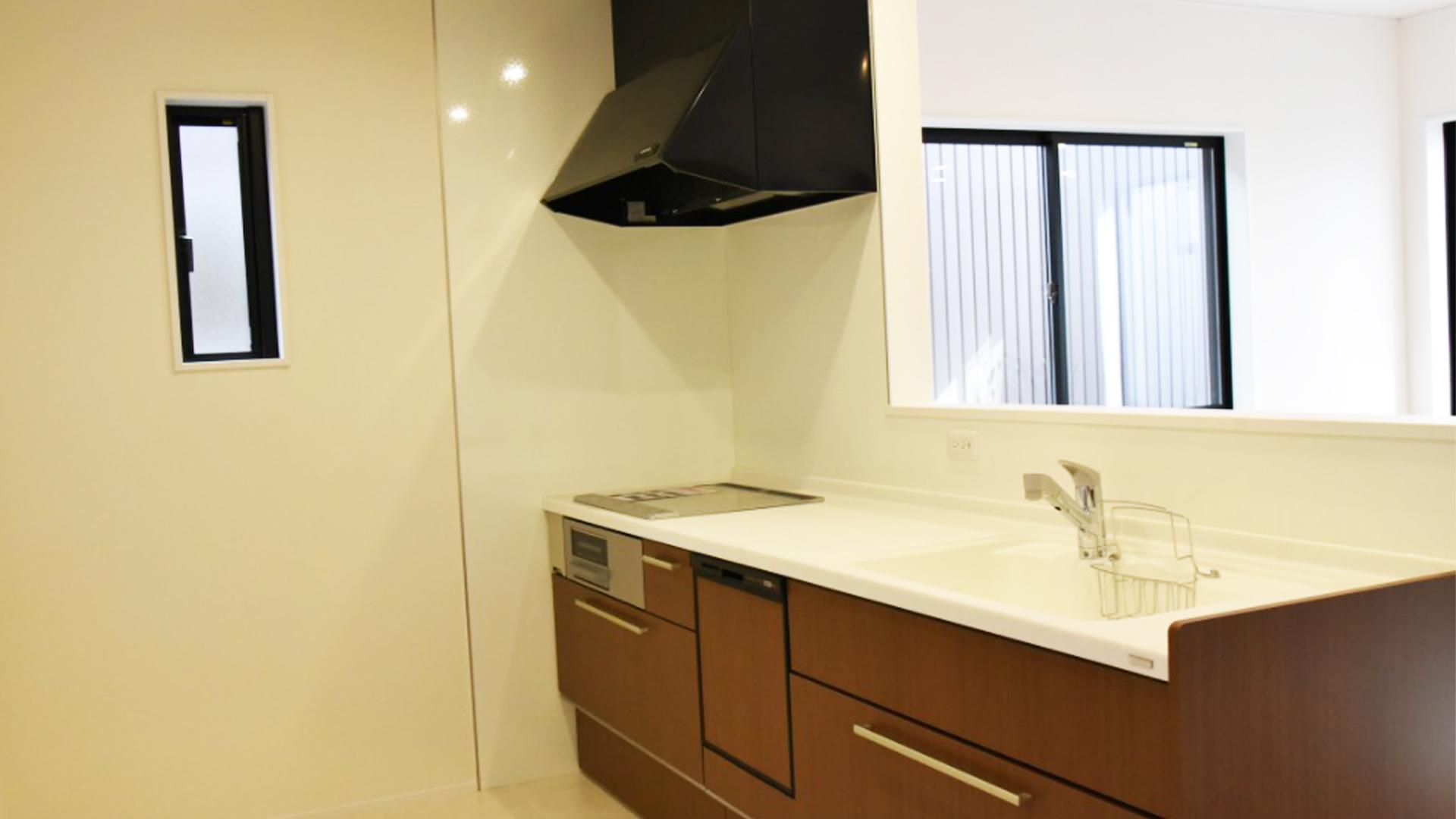 リンクホームが立てる新築一戸建てのキッチンの画像