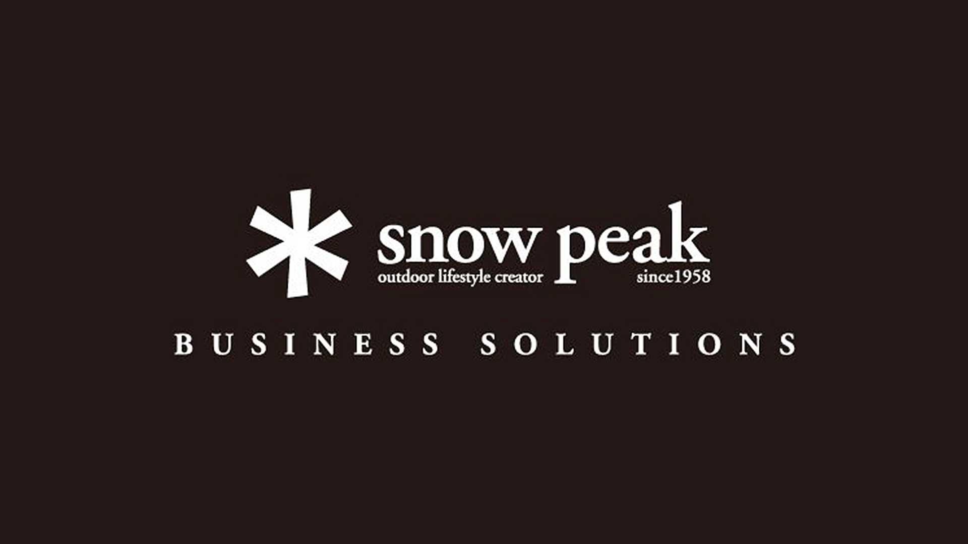 スノーピークの大丸松坂屋のアイキャッチ画像のロゴ