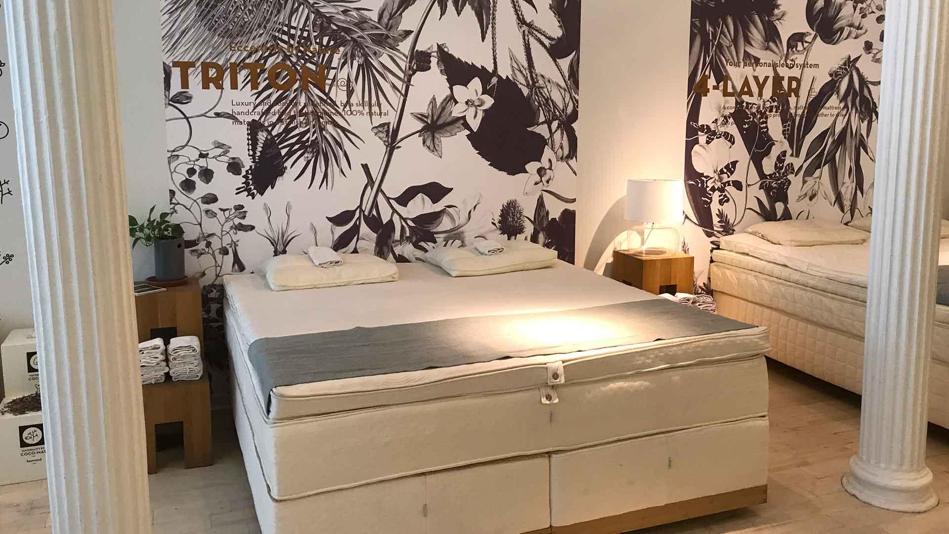 アメリカのニューヨークのココマットの展示画像