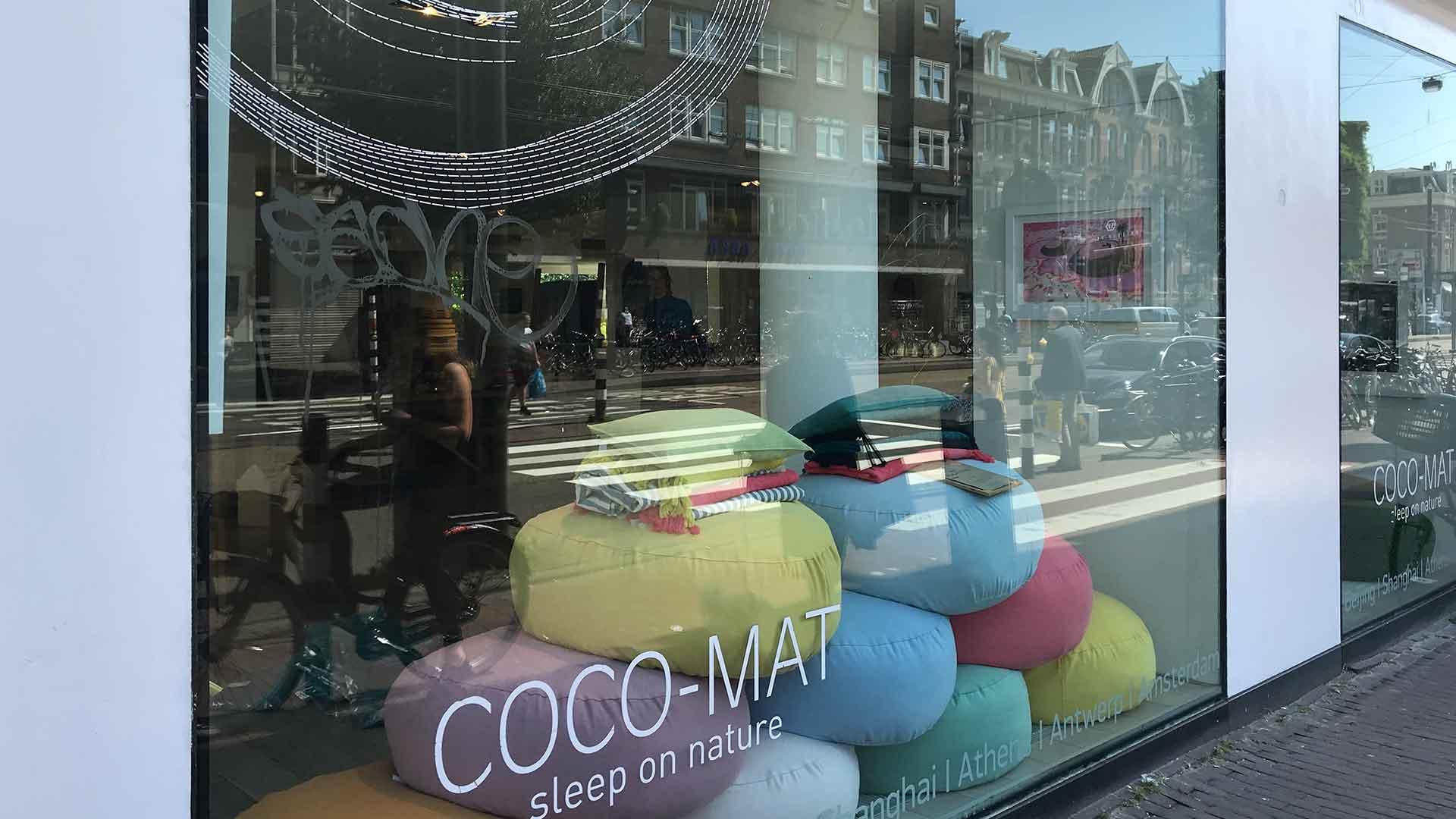 オランダのアムステルダムのココマットのお店の画像