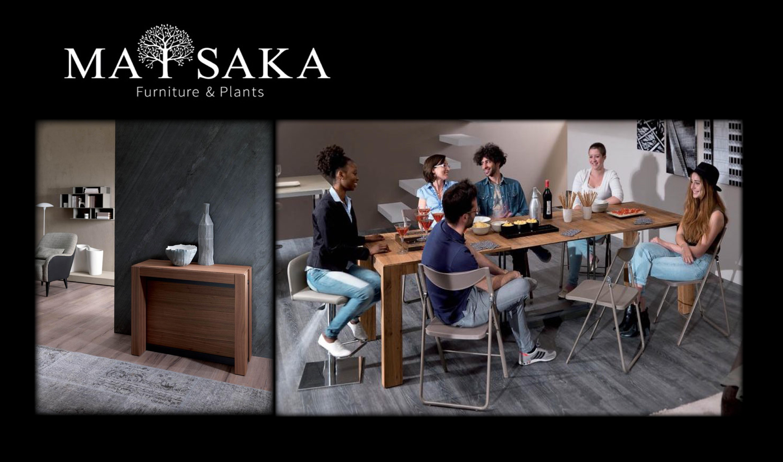 広がるテーブル専門店Dexのイメージ画像。