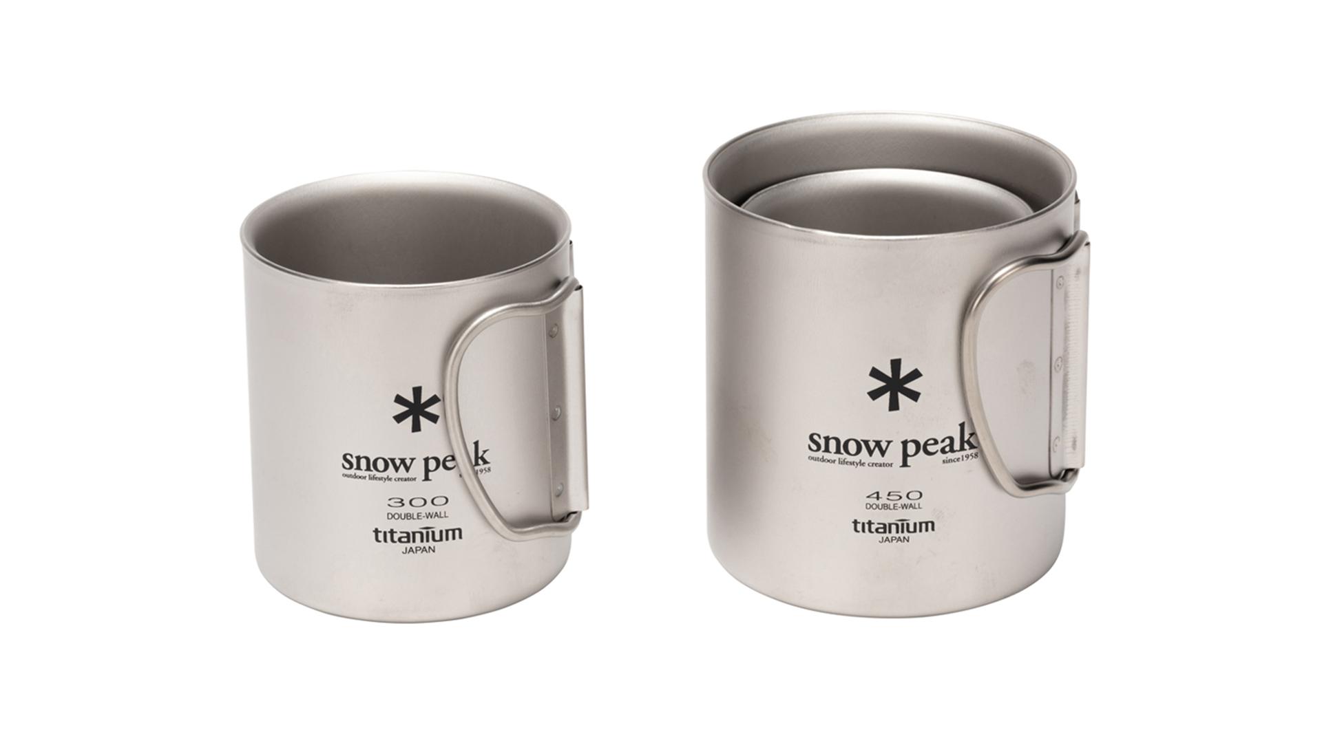 スノーピークのチタンマグカップの画像。